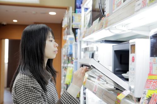 新生活に向けて、家電製品の購入