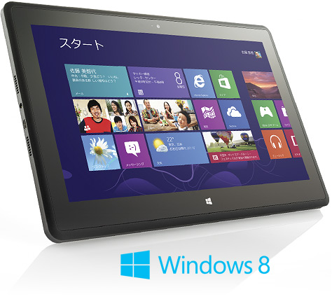 マウスコンピューター 11.6型 Windows 8 搭載タブレットPC「LuvPad WN1100」