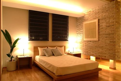 寝室には、間接照明がおすすめです。