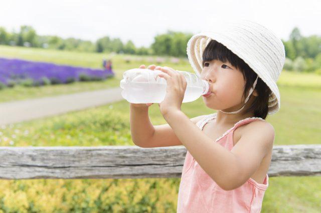水分補給で熱中症対策を!