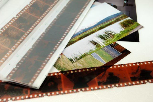 ネガフィルムと写真
