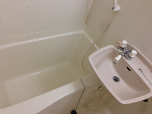 実際にバスルームを使っているときは、こんな感じで使うのでしょうか