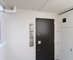 玄関と表札