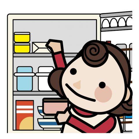冷蔵庫の中身をチェック!