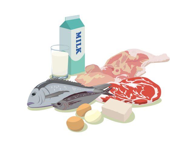 冷蔵保存が必要な食材