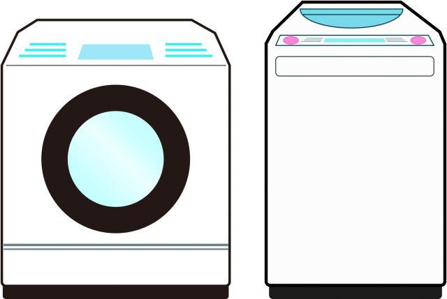 縦型洗濯機と横型洗濯機