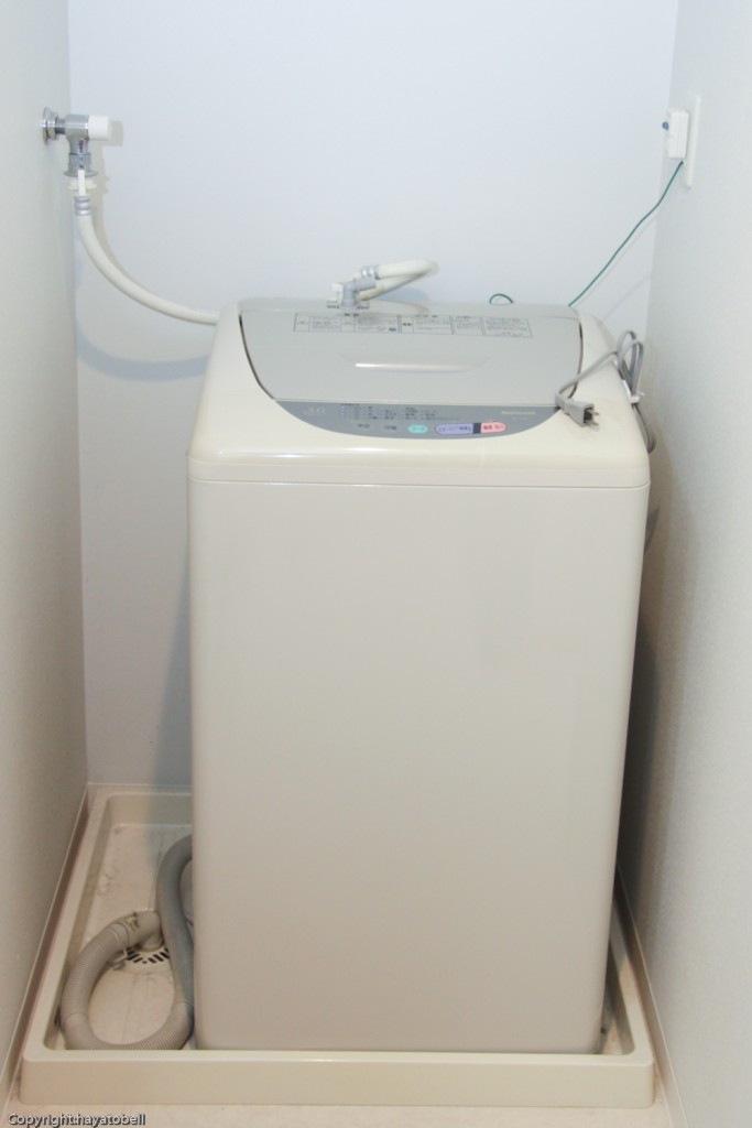 横型洗濯機