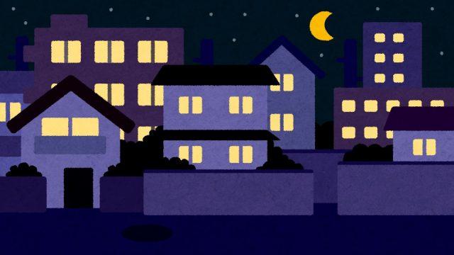引越し前日の夜