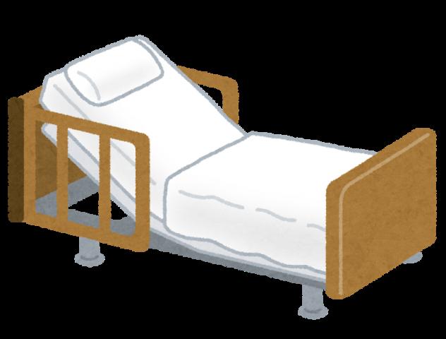 介護用の電動ベッド