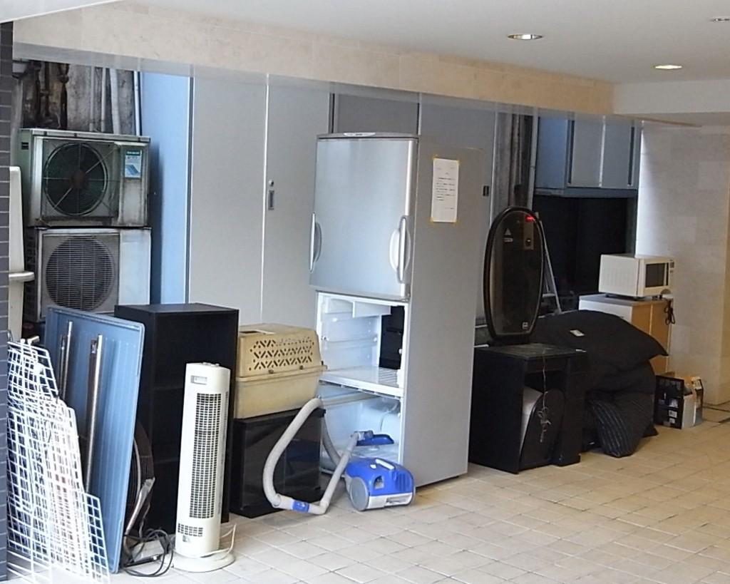 冷蔵庫の不用品処分