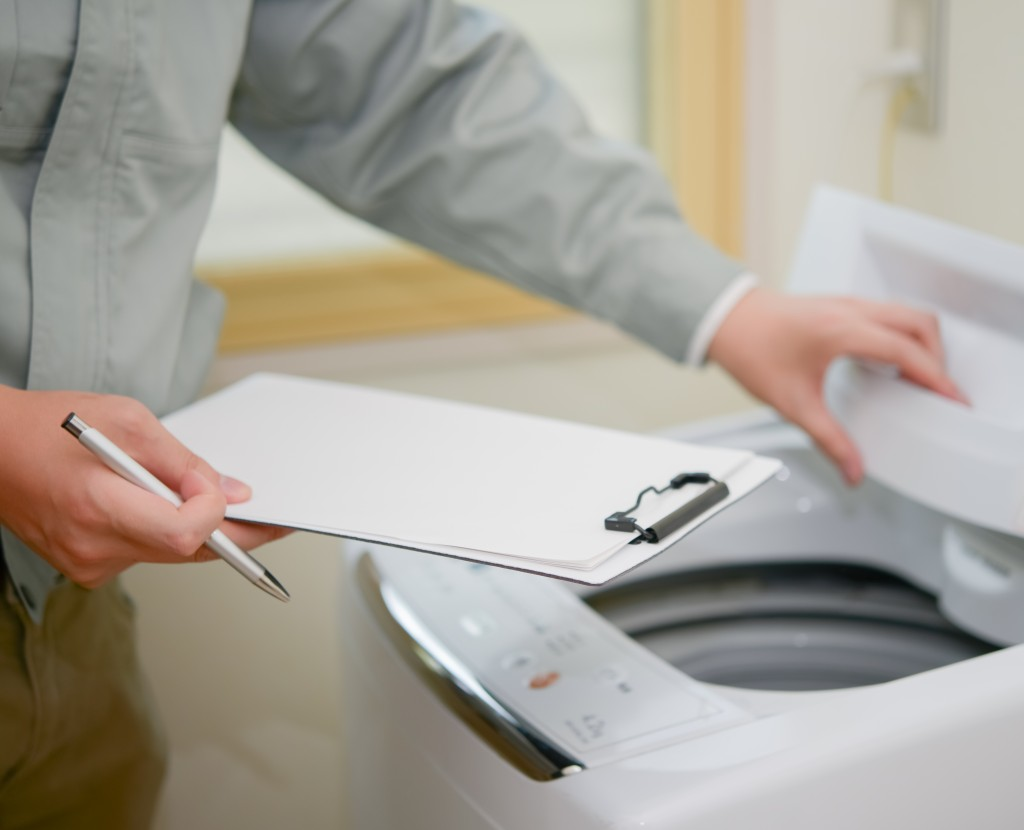 洗濯機の引越し