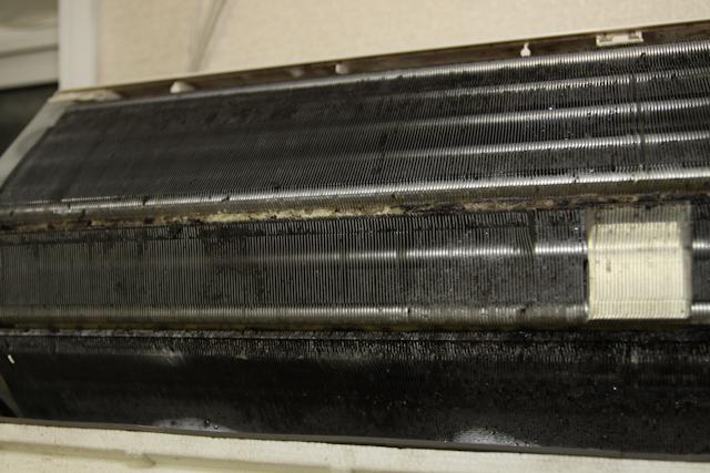 エアコンのカビ、汚れ