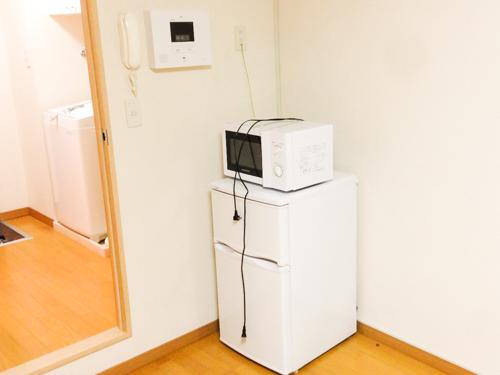 レオパレスに備え付けの家電