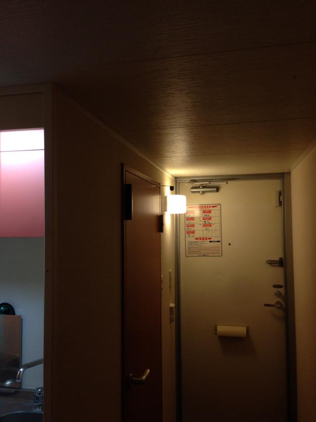 玄関の電球