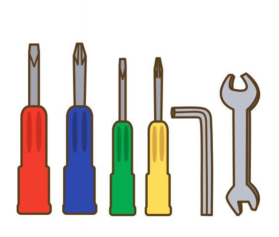 ベッドの分解工具