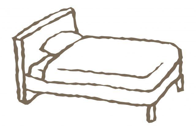 ベッドの組み立て