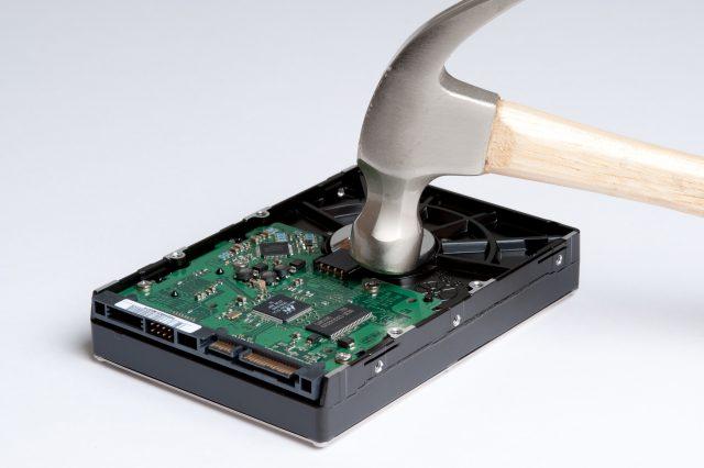 HDDの廃棄処分