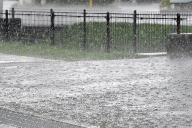 大雨・台風の日の引越し