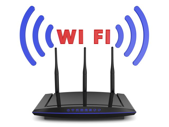 WiFi router(無線LAN)