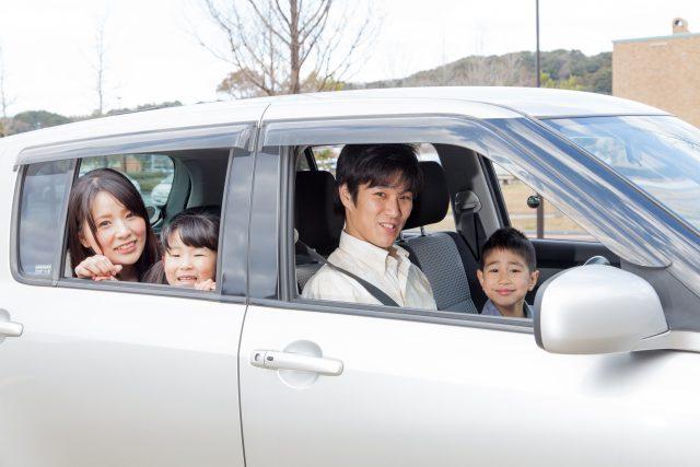 家族の引越しはマイカーで移動