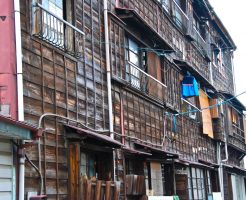 築年数の古いアパート