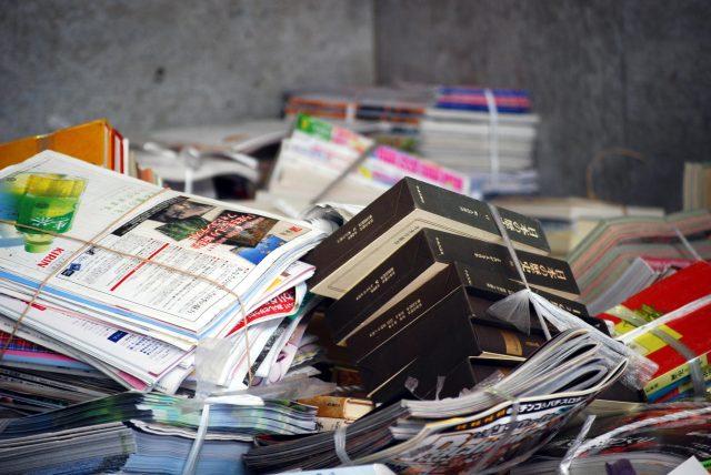 引越し自は、ゴミの量が増える