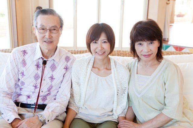 彼女の両親