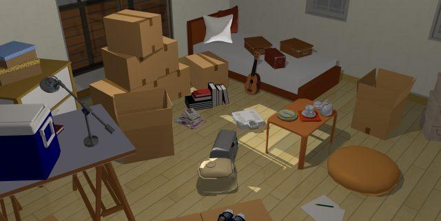 独身男性の一人暮らし部屋