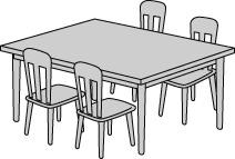 不要になったダイニングテーブル