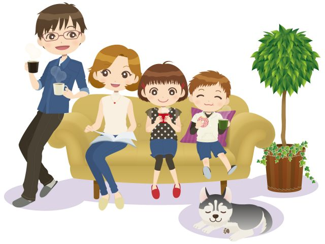 家族の引越し