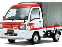 赤帽の軽トラック