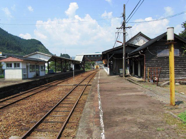 田舎のローカルな駅