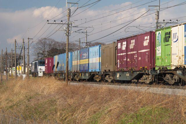 JR貨物列車のコンテナ