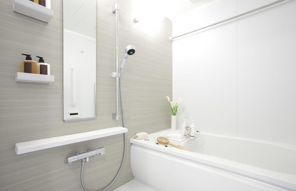 新築のバスルーム