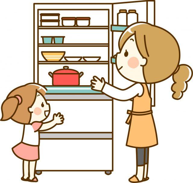 冷蔵庫 子供