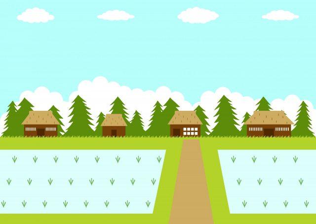 田舎の集落