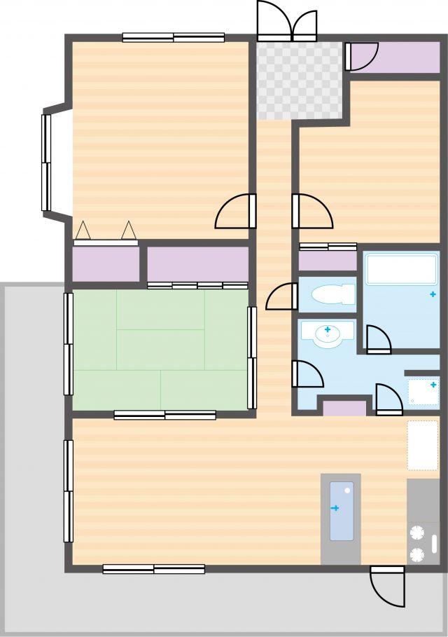 広いマンション