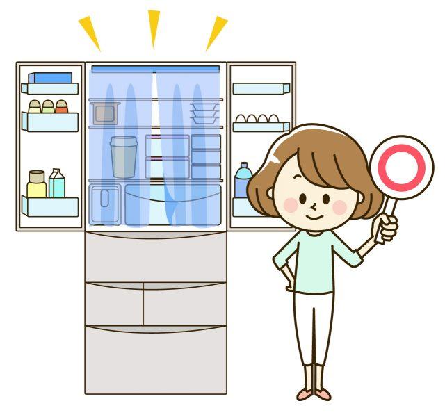 断捨離した冷蔵庫