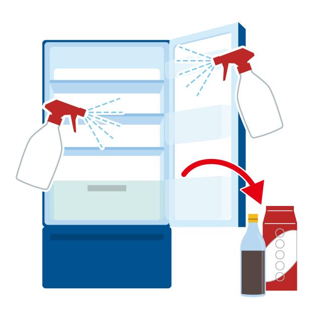 きれいな冷蔵庫